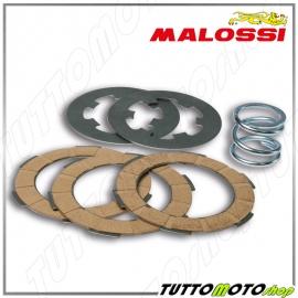 5216520 MALOSSI Serie dischi frizione + Molla PIAGGIO APE 50 - VESPA 50 - 125 PRIMAVERA ET3