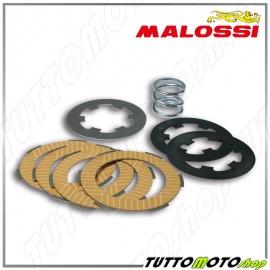 5216522 MALOSSI Serie 4 dischi frizione + MOLLA MHR TEAM PIAGGIO APE 50 - VESPA 50 125
