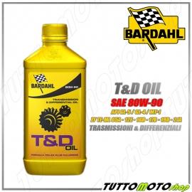 BARDAHL T&D OIL 80W90 OLIO TRASMISSIONE - DIFFERENZIALE - CAMBIO