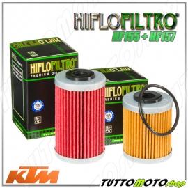 FILTRO OLIO HIFLO HF155 + SECONDARIO HF157