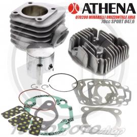 ATHENA SPORT KIT GRUPPO TERMICO 70 cc 47,6 MINARELLI ORIZZONTALE LIQUIDO H2O
