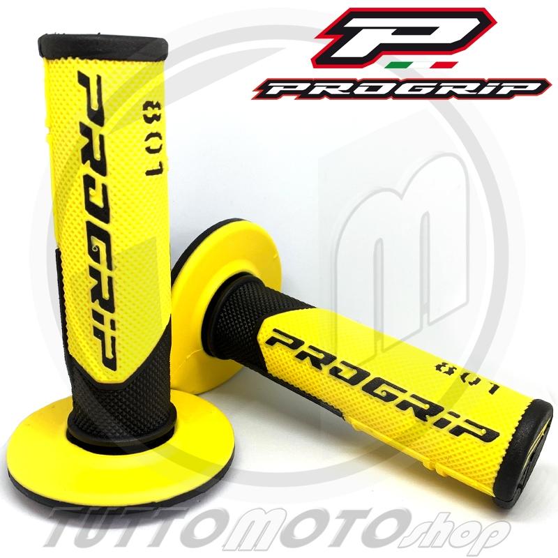 PROGRIP MANUBRIO grip impugnatura di gomma giallo Suzuki LT-Z 50 250 400
