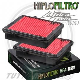 KIT 2 FILTRI ARIA TIPO ORIGINALE HIFLO FILTRO HONDA CRF 1000 AFRICA TWIN