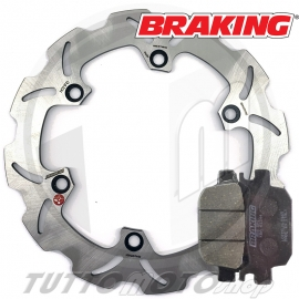 DISCO FRENO ANT. BRAKING WAVE HONDA (HO21FID)